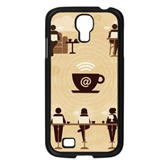 Coffee Ofice Work Commmerce Samsung Galaxy S4 I9500/ I9505 Case (black) by AnjaniArt