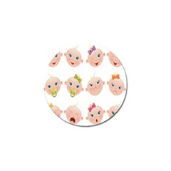 Cute Baby Picture Golf Ball Marker (10 Pack) by AnjaniArt