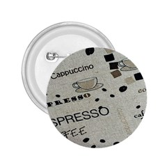 Coffe Cup 2 25  Buttons