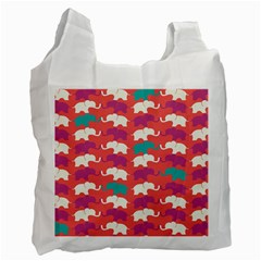 Elephant Recycle Bag (two Side)