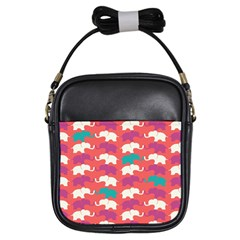 Elephant Girls Sling Bags by AnjaniArt