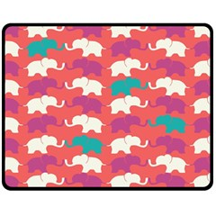 Elephant Fleece Blanket (medium)