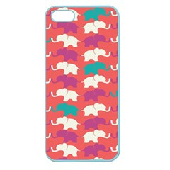 Elephant Apple Seamless Iphone 5 Case (color) by AnjaniArt