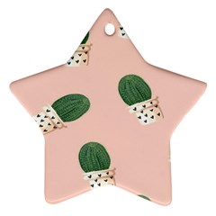 Flower Pot Star Ornament (two Sides)