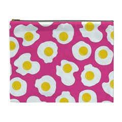 Fried Egg Cosmetic Bag (xl)