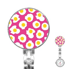 Fried Egg Stainless Steel Nurses Watch
