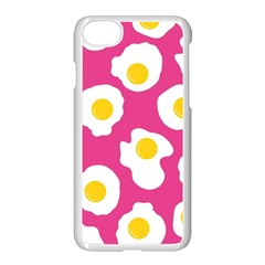 Fried Egg Apple Iphone 7 Seamless Case (white) by AnjaniArt