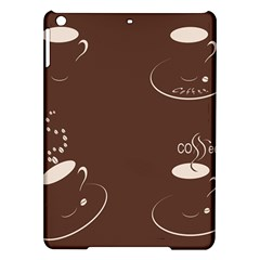 Four Coffee Cups Ipad Air Hardshell Cases