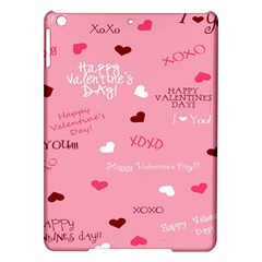 Happy Valentines Day Ipad Air Hardshell Cases