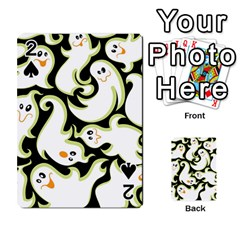 Ghosts Small Phantom Stock Playing Cards 54 Designs  by AnjaniArt