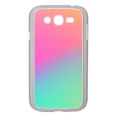 Pink Blue Samsung Galaxy Grand Duos I9082 Case (white)