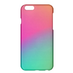Pink Blue Apple Iphone 6 Plus/6s Plus Hardshell Case