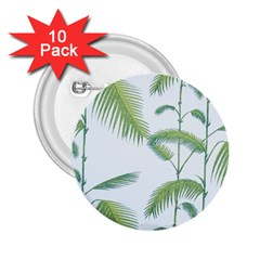 Hawai Tree 2 25  Buttons (10 Pack)