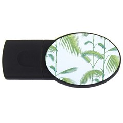 Hawai Tree Usb Flash Drive Oval (2 Gb)