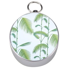 Hawai Tree Silver Compasses by AnjaniArt