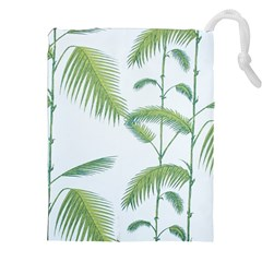 Hawai Tree Drawstring Pouches (xxl)