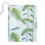 Hawai Tree Drawstring Pouches (XXL) Back