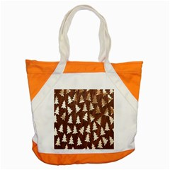 Gold Tree Background Accent Tote Bag by AnjaniArt