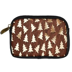 Gold Tree Background Digital Camera Cases