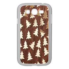 Gold Tree Background Samsung Galaxy Grand Duos I9082 Case (white)