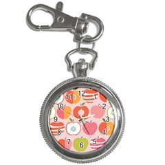 Pink Delicious Organic Canvas Key Chain Watches