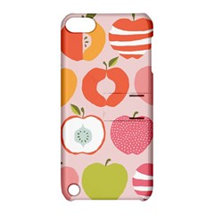Pink Delicious Organic Canvas Apple Ipod Touch 5 Hardshell Case With Stand