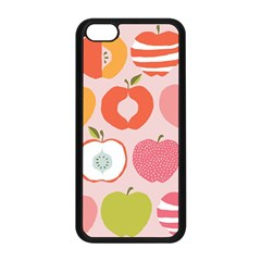 Pink Delicious Organic Canvas Apple Iphone 5c Seamless Case (black)