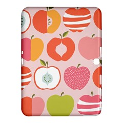 Pink Delicious Organic Canvas Samsung Galaxy Tab 4 (10 1 ) Hardshell Case  by AnjaniArt