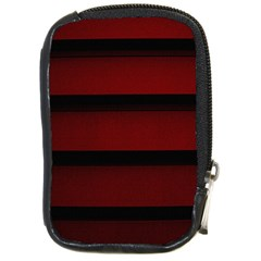 Line Red Black Compact Camera Cases