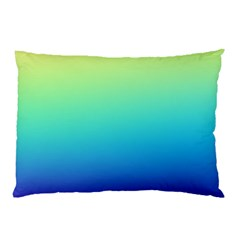 Purple Blue Green Pillow Case