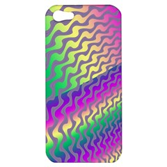 Line Colour Wiggles Apple Iphone 5 Hardshell Case