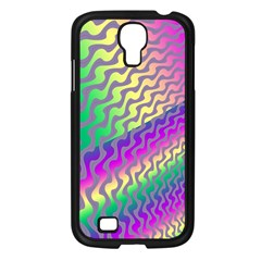 Line Colour Wiggles Samsung Galaxy S4 I9500/ I9505 Case (black) by AnjaniArt