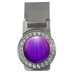 Purple Colors Fullcolor Money Clips (cz)