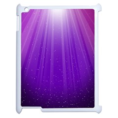 Purple Colors Fullcolor Apple Ipad 2 Case (white) by AnjaniArt