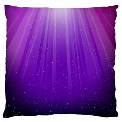Purple Colors Fullcolor Large Cushion Case (one Side) by AnjaniArt