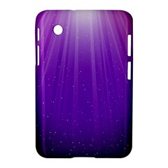 Purple Colors Fullcolor Samsung Galaxy Tab 2 (7 ) P3100 Hardshell Case  by AnjaniArt
