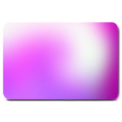 Purple White Background Bright Spots Large Doormat