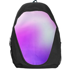 Purple White Background Bright Spots Backpack Bag by AnjaniArt