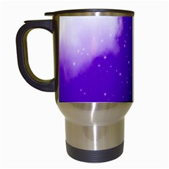 Purple Cloud Travel Mugs (white)