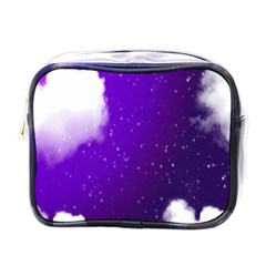 Purple Cloud Mini Toiletries Bags