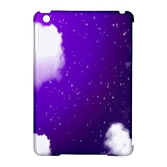 Purple Cloud Apple Ipad Mini Hardshell Case (compatible With Smart Cover)