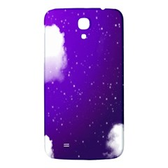 Purple Cloud Samsung Galaxy Mega I9200 Hardshell Back Case
