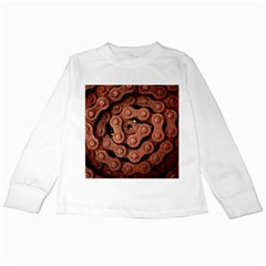Motorcycle Chain Kids Long Sleeve T Shirts