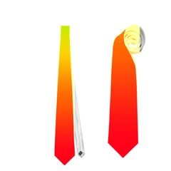 Rainbow Blue Green Pink Orange Neckties (two Side)  by AnjaniArt