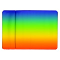 Rainbow Blue Green Pink Orange Samsung Galaxy Tab 10 1  P7500 Flip Case