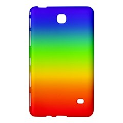 Rainbow Blue Green Pink Orange Samsung Galaxy Tab 4 (8 ) Hardshell Case  by AnjaniArt
