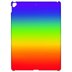 Rainbow Blue Green Pink Orange Apple Ipad Pro 12 9   Hardshell Case by AnjaniArt