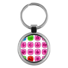 Sign Picture Key Chains (round)  by AnjaniArt