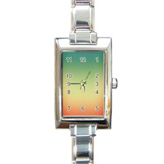 Smooth Gaussian Rectangle Italian Charm Watch