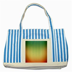 Smooth Gaussian Striped Blue Tote Bag